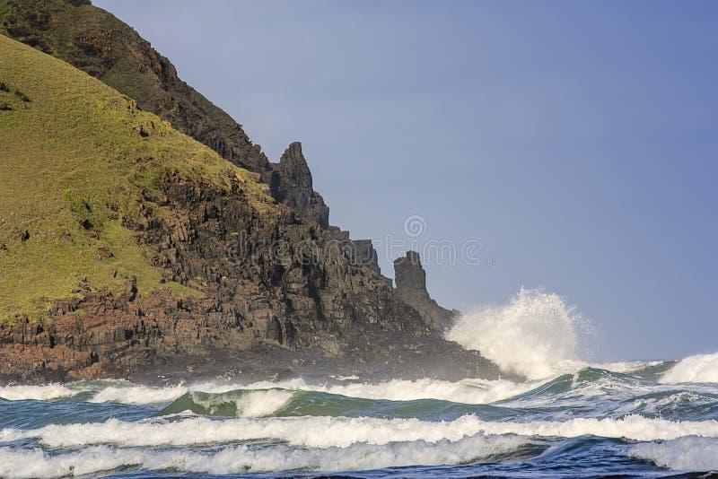 Beachscape - Transkei fotos de archivo libres de regalías