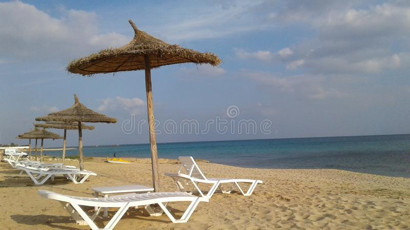 Beachtime imagens de stock royalty free