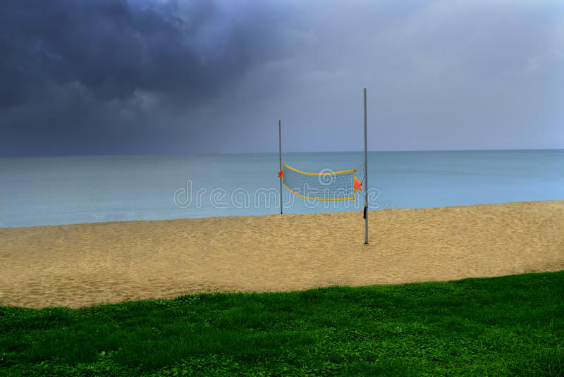 Download Beachvolley stock photo. Image of resting, water, post - 11614556