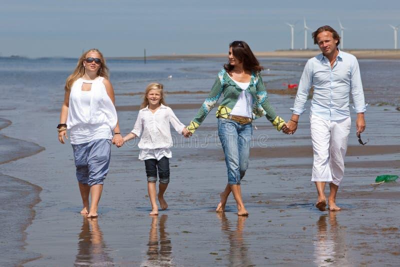 beachwalk royaltyfria foton