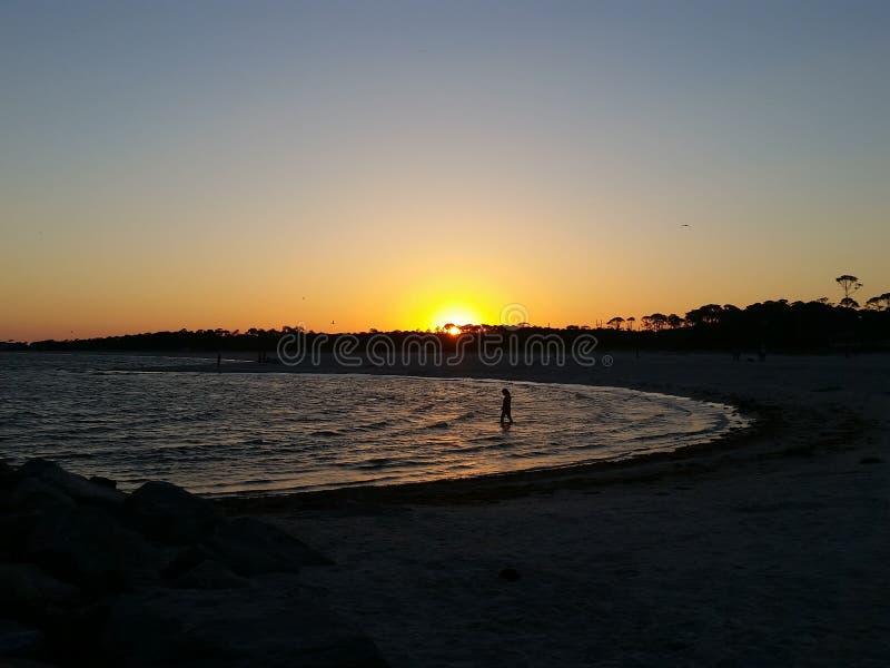Beachy установка стоковое изображение