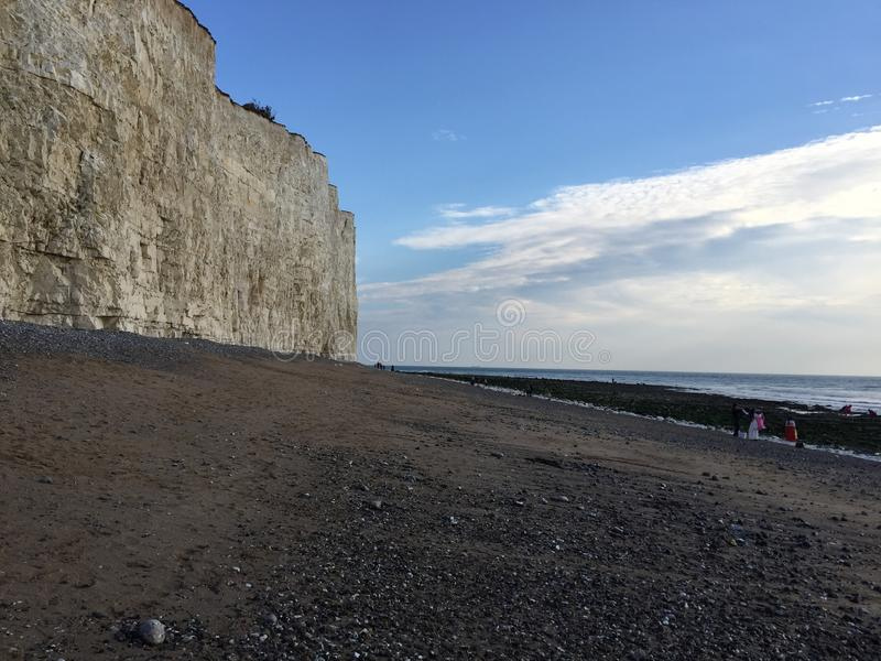 Beachy head England East Sussex royalty free stock photography