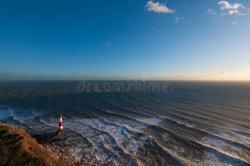 Beachy Head lighthouse stock images