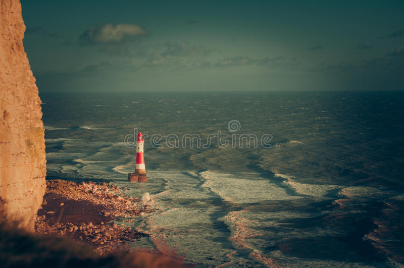 Beachy Head lighthouse stock photos