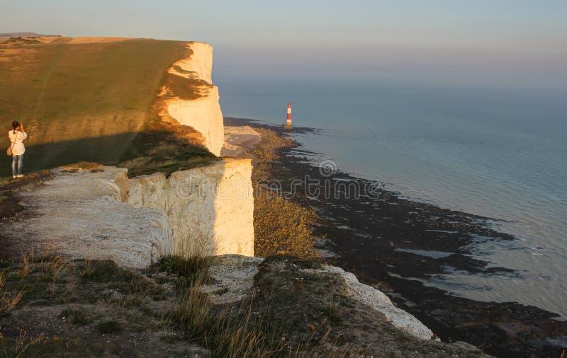Beachy Head, UK, England stock photo