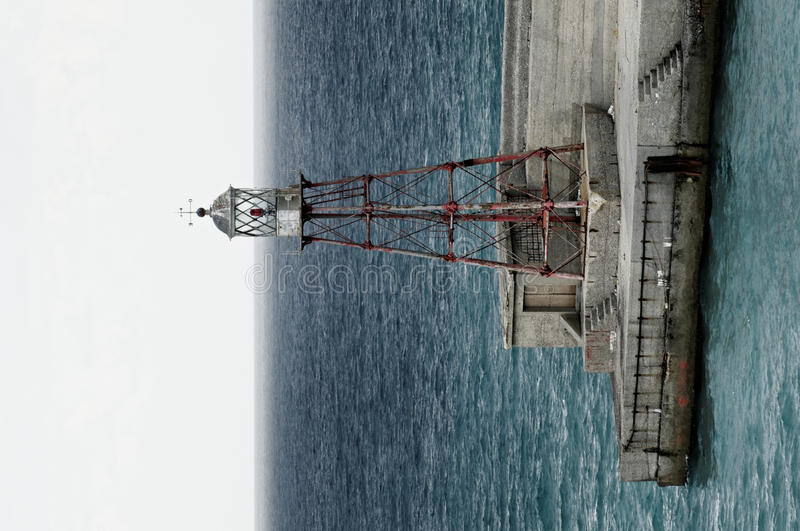 Download Beacon At A Harbour's Entrance Stock Image - Image: 21887447