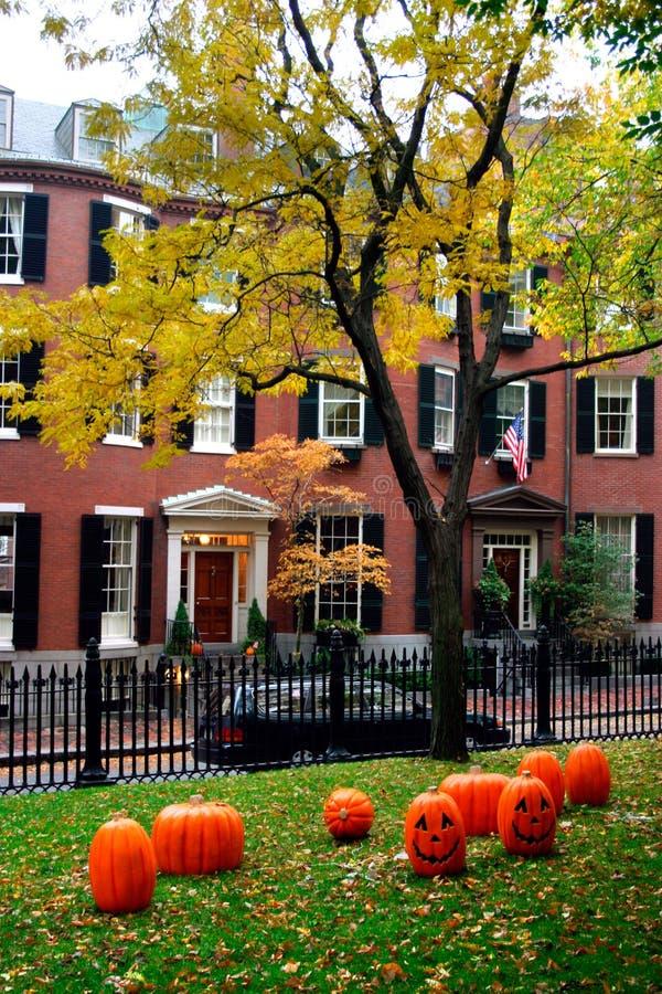 Beacon Hill, Boston stock image
