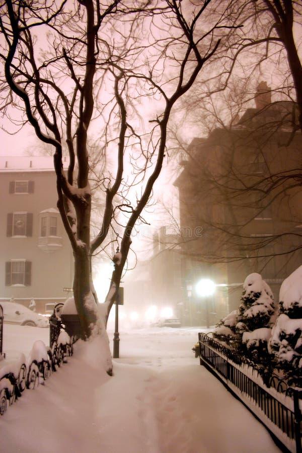 Free Beacon Hill, Boston Stock Image - 1289791