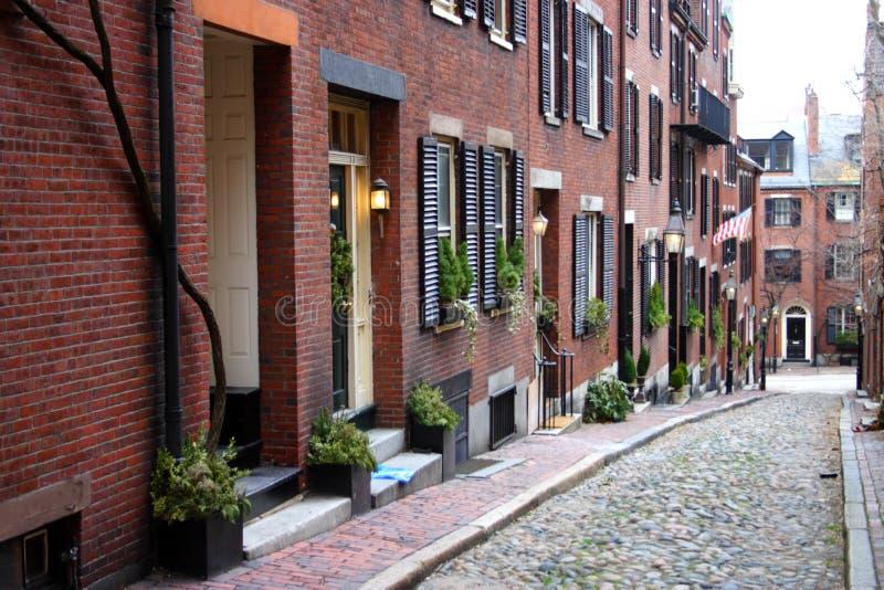 Beacon Hill, Boston zdjęcia stock