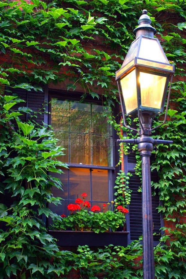 Beacon Hill, Boston royalty free stock photos