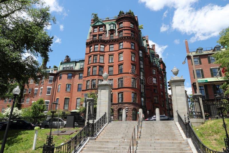 Beacon Hill, Boston royalty free stock photo