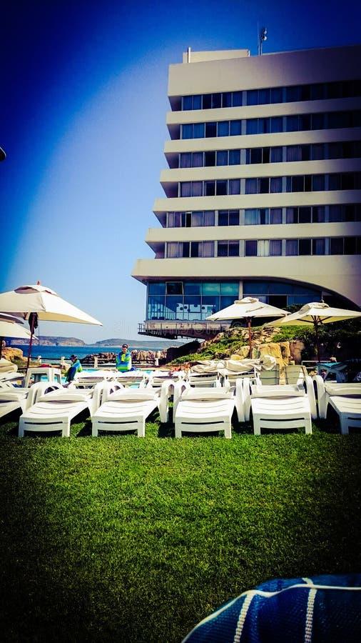Beacon Island hotel royalty free stock photo