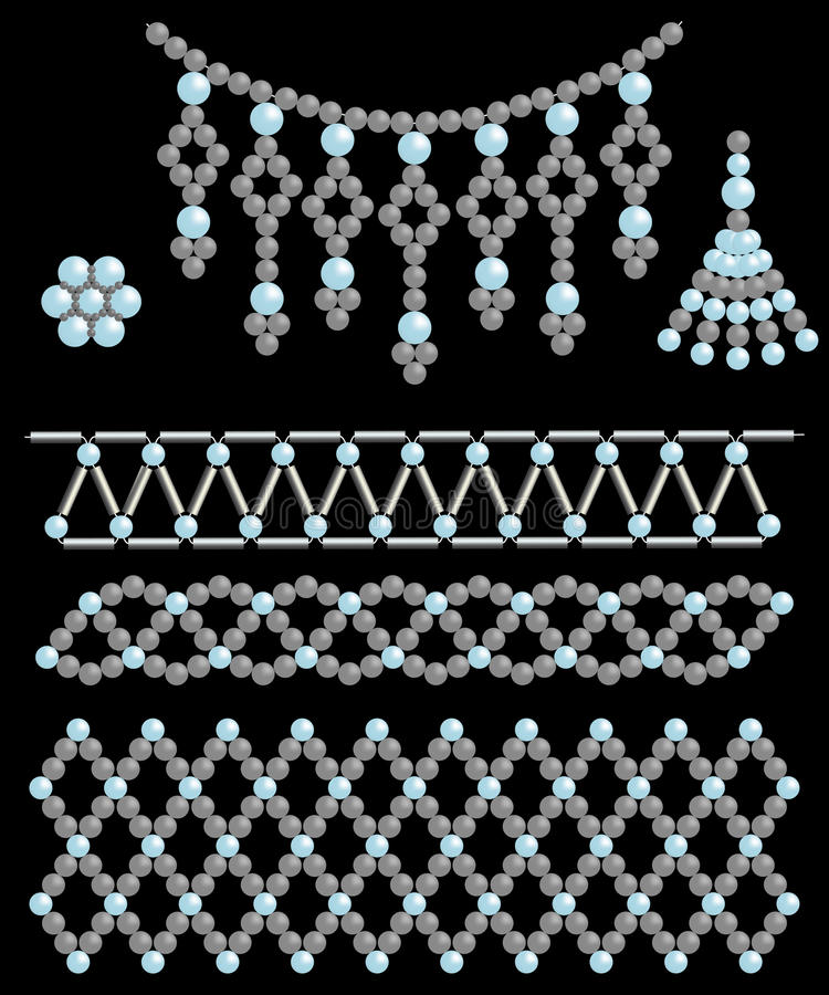 Bead Adornments Stock Images