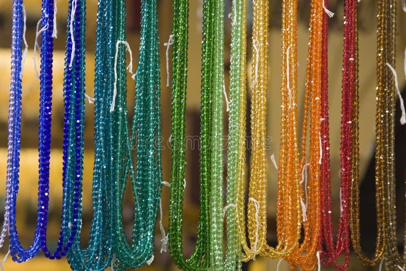 Beaded Rainbow royalty free stock photos