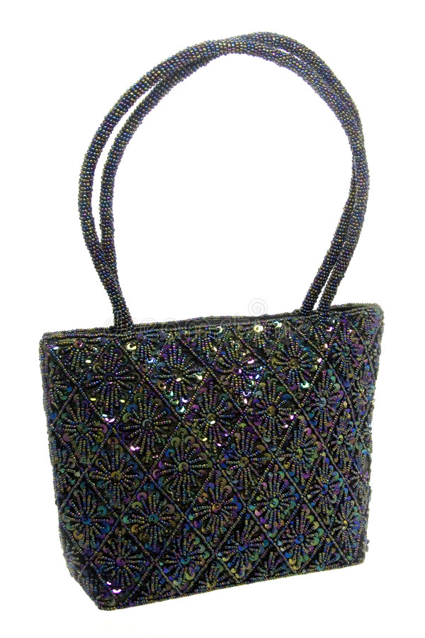 Download Beaded And Sequined Hand Bag Stock Photo - Image: 1803232