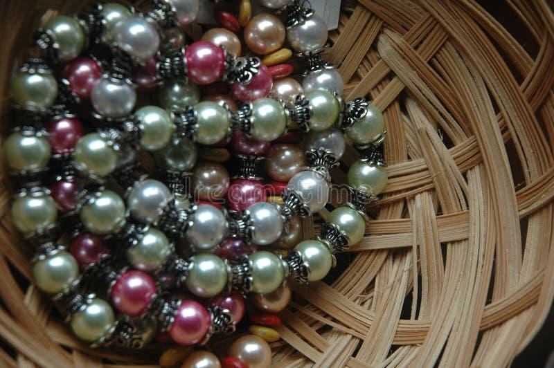 Beads royalty free stock photo