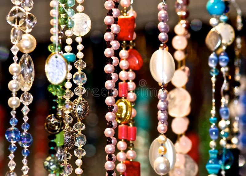Beads. royalty free stock image