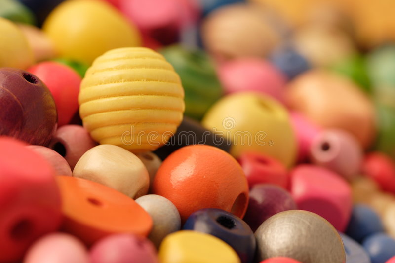 Beads royalty free stock photo