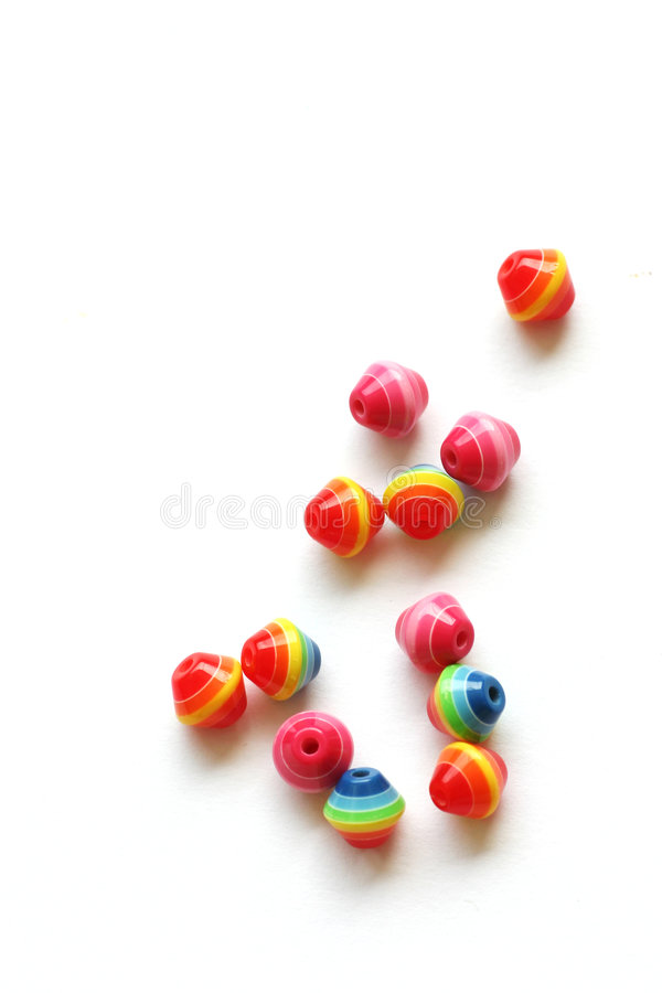 Beads for handicrafts royalty free stock image