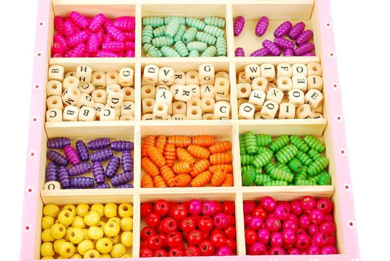 Beads set. royalty free stock image