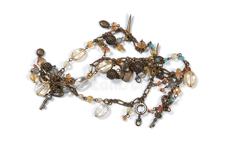 beads tappning arkivbild