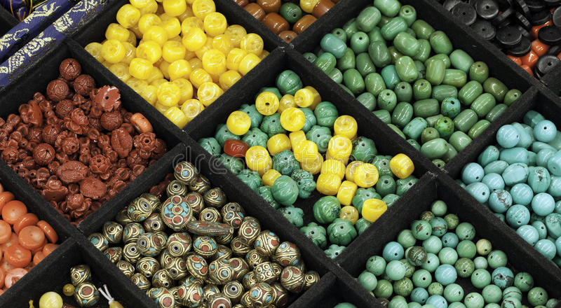 Download Beads stock photo. Image of calaite, stand, pile, necklaces - 29830072