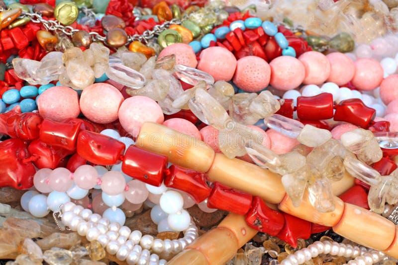beads variation arkivbild