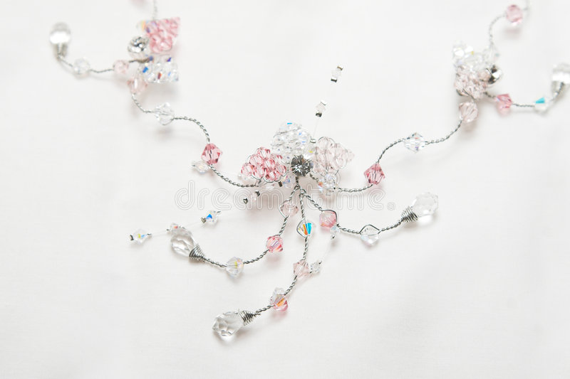 Download Beadwork Necklace stock photo. Image of decoration, wire - 5042216