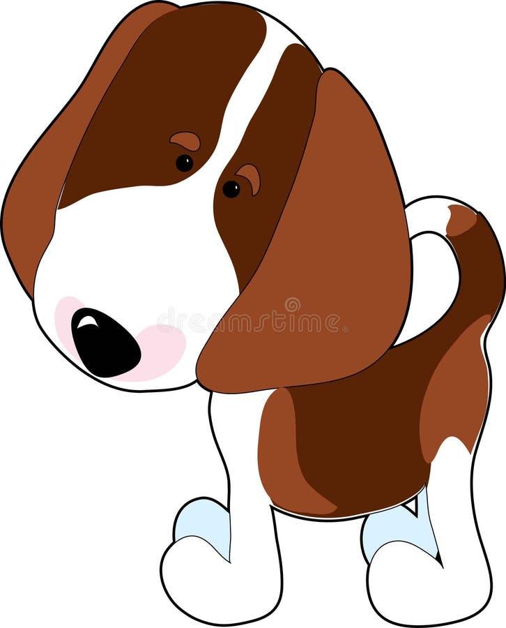beagle royaltyfri illustrationer