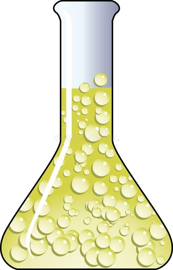 Beaker stock illustration