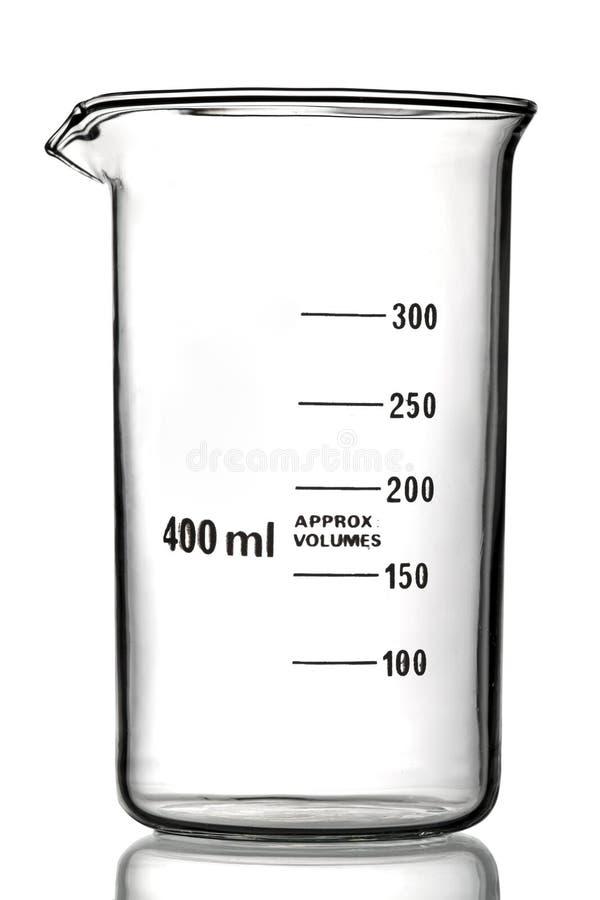 Free Beaker Isolated On White Stock Photos - 15521083