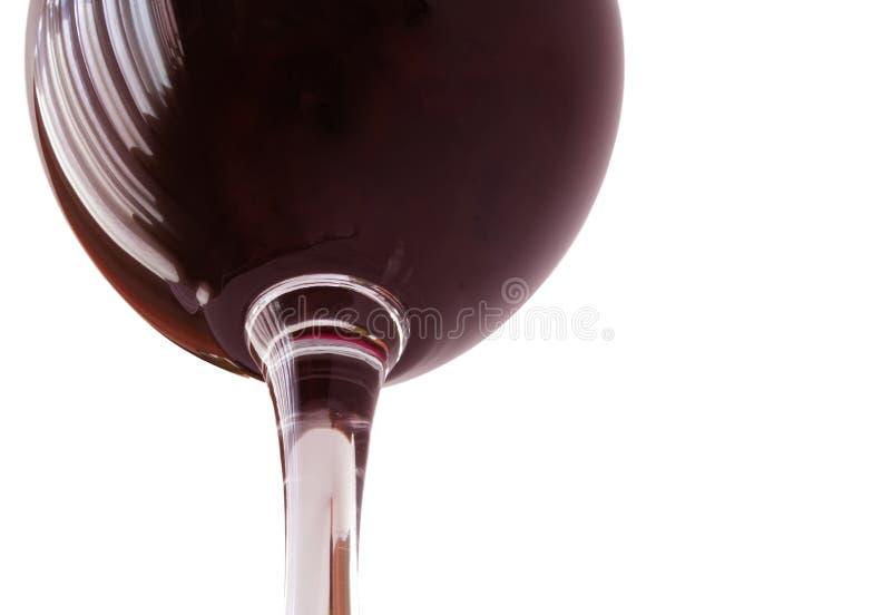 Beaker of wine stock photo