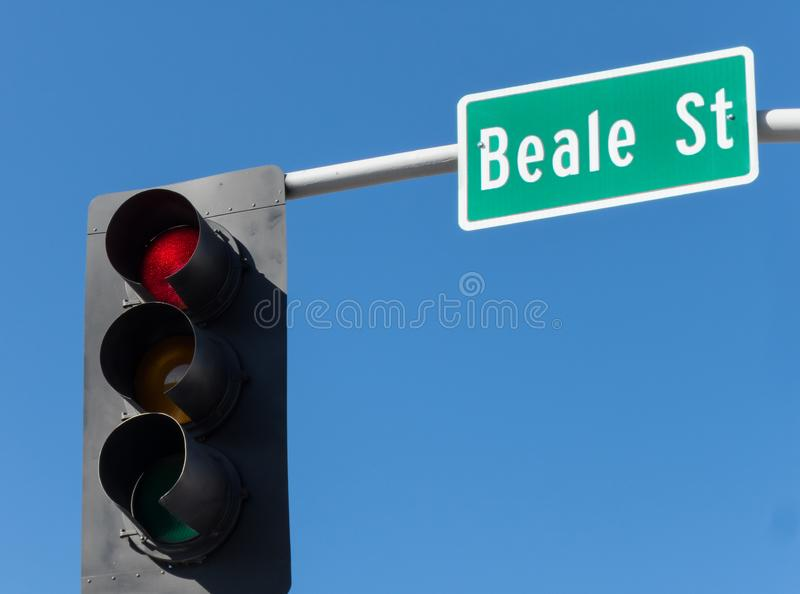 Beale gatatecken fotografering för bildbyråer