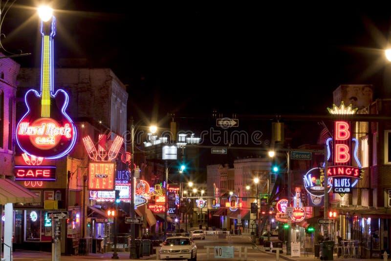 Beale Streetin W centrum Memphis, Tennessee