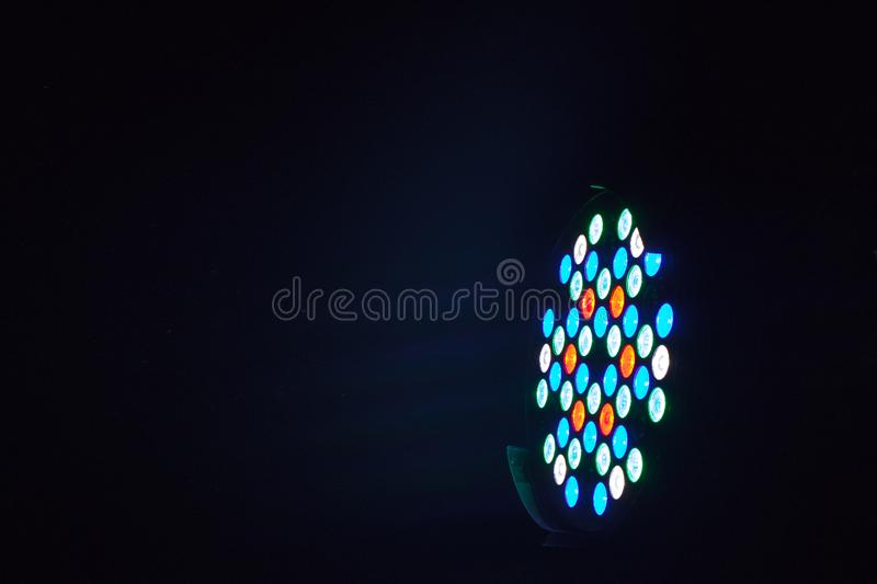 Beam of Party light shot taken form a party. royalty free stock photography