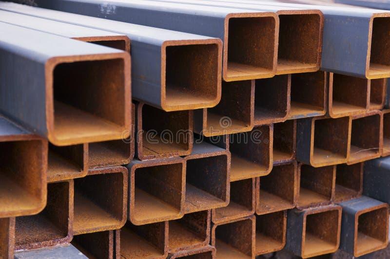 beams stål arkivbild