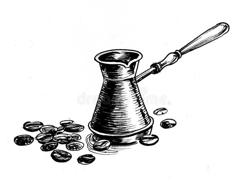 bean śniadanie kawa ideał wyizolował makro nadmiar białych ilustracji