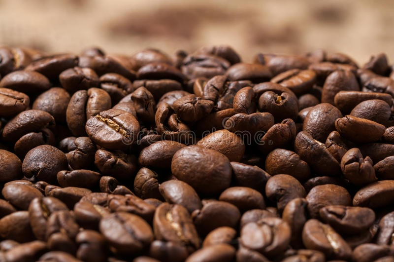 bean śniadanie kawa ideał wyizolował makro nadmiar białych z bliska Bokeh obraz stock