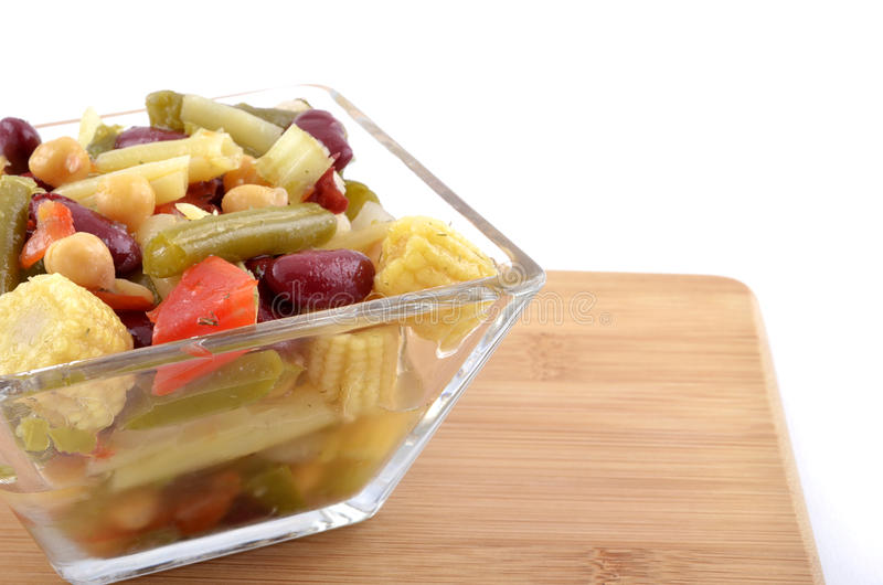 Download Bean And Baby Corn Salad Stock Photography - Image: 25995792