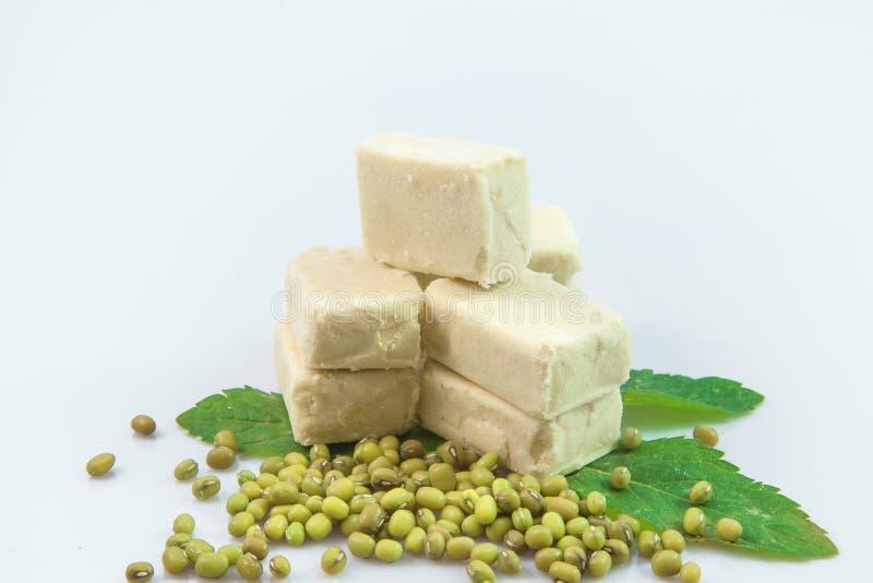 Bean Cake verde foto de stock royalty free