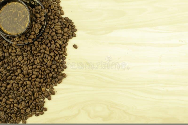 Bean Coffee inteiro foto de stock royalty free