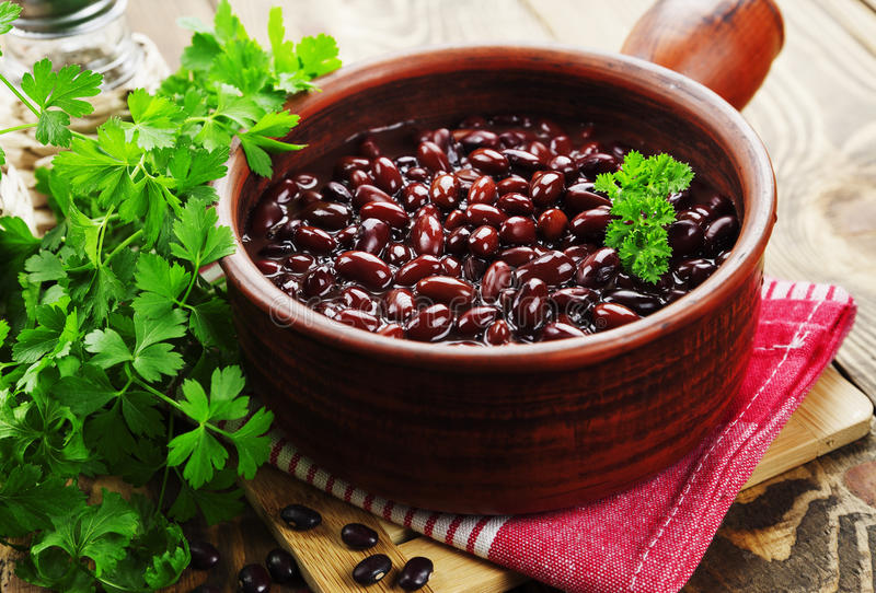 Bean-Eintopfgericht stockbilder