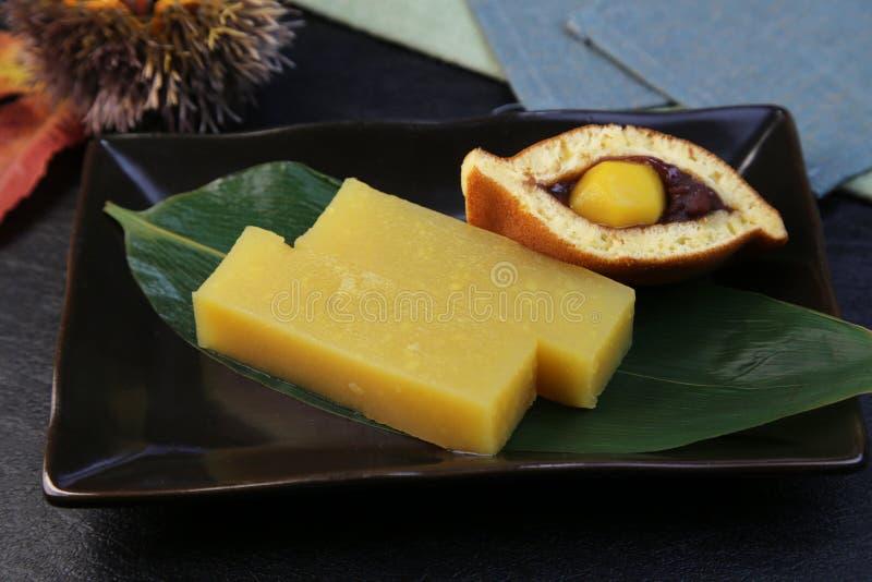 Bean-Gelee der Kastanie lizenzfreie stockfotos