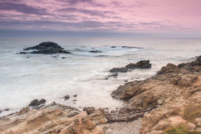Bean Hollow State Beach Twilight photos libres de droits