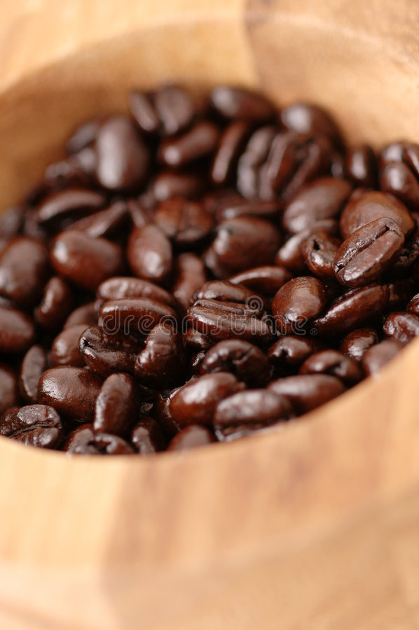 bean miski kawy obraz stock