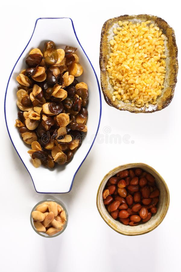 Download Bean and nut-3.jpg stock photo. Image of bean, snack, health - 8633960