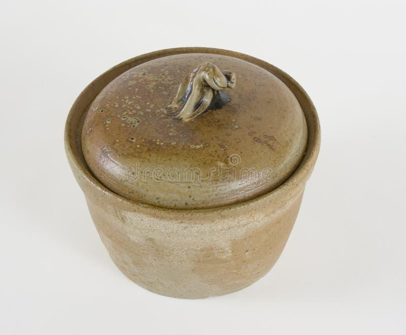 bean pot stoneware στοκ φωτογραφία