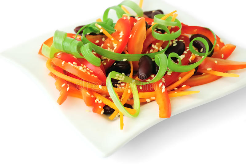 Bean Salad fotografie stock