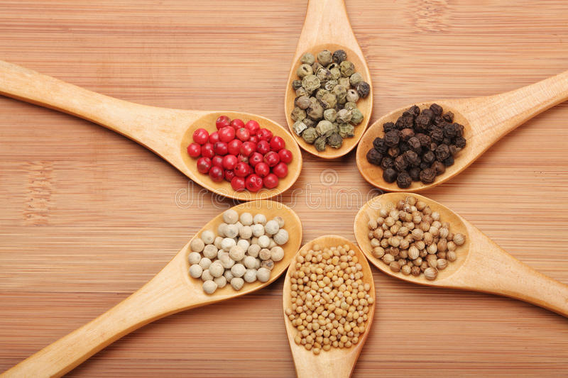 Download Bean spoons stock photo. Image of bean, holding, mixture - 23003412