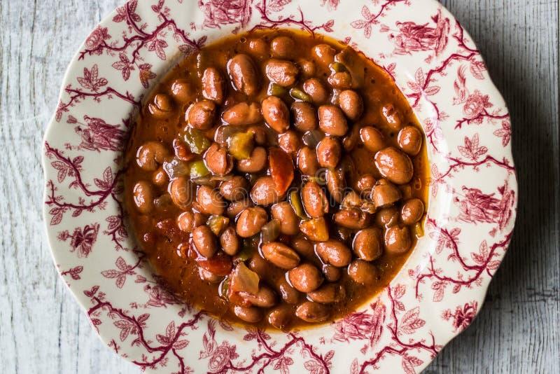 Bean Stew/turk Barbunya Pilaki royaltyfria foton